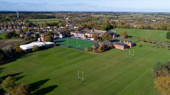 Aerial Photo of the Senior School