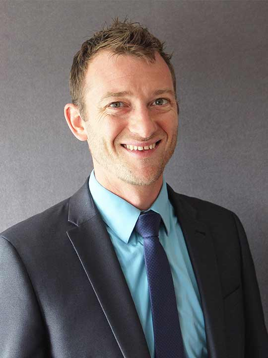Photo of Mr Jackson, House Parent and Director of Sport