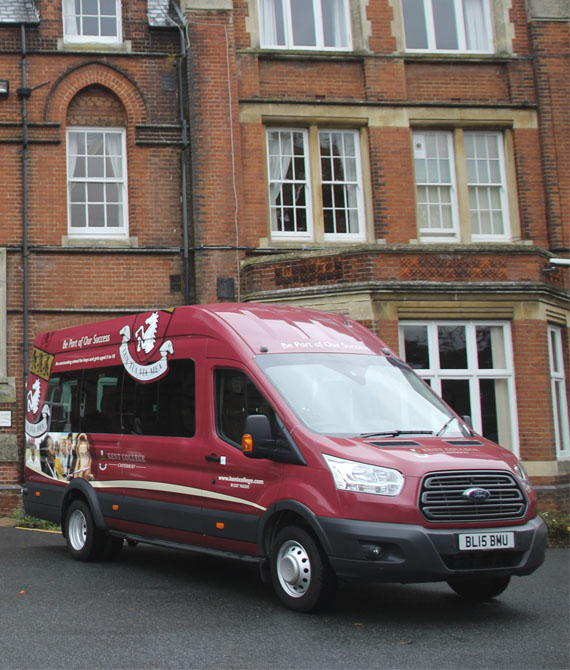 Kent College Mini-bus