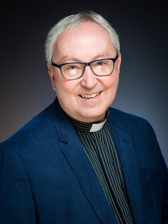 Photo of Dr P Glass, Chaplain