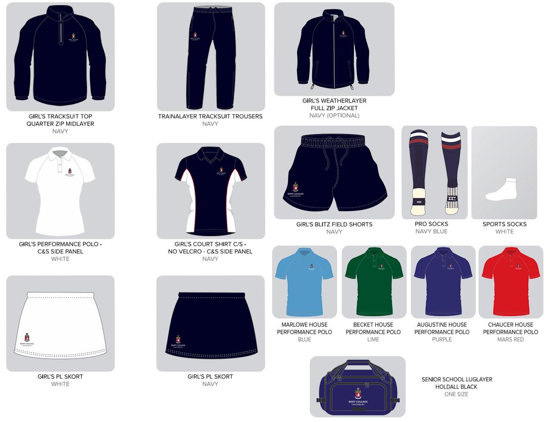Sports Uniform - Kent College Senior School