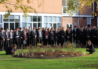Remembrance at Kent College