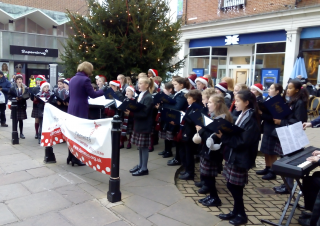 Choristers Performance at Whitefriars for Demelza House