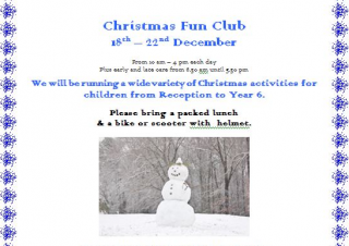 Christmas Fun Club