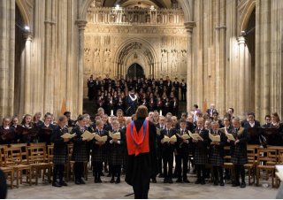 The Kent College Carol Service, Canterbury Cathedral