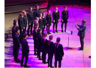 Sedecim and Choristers perform in Barnardo's Youth Choral National Final