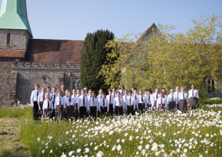 Take a moment to listen to the KC Choristers