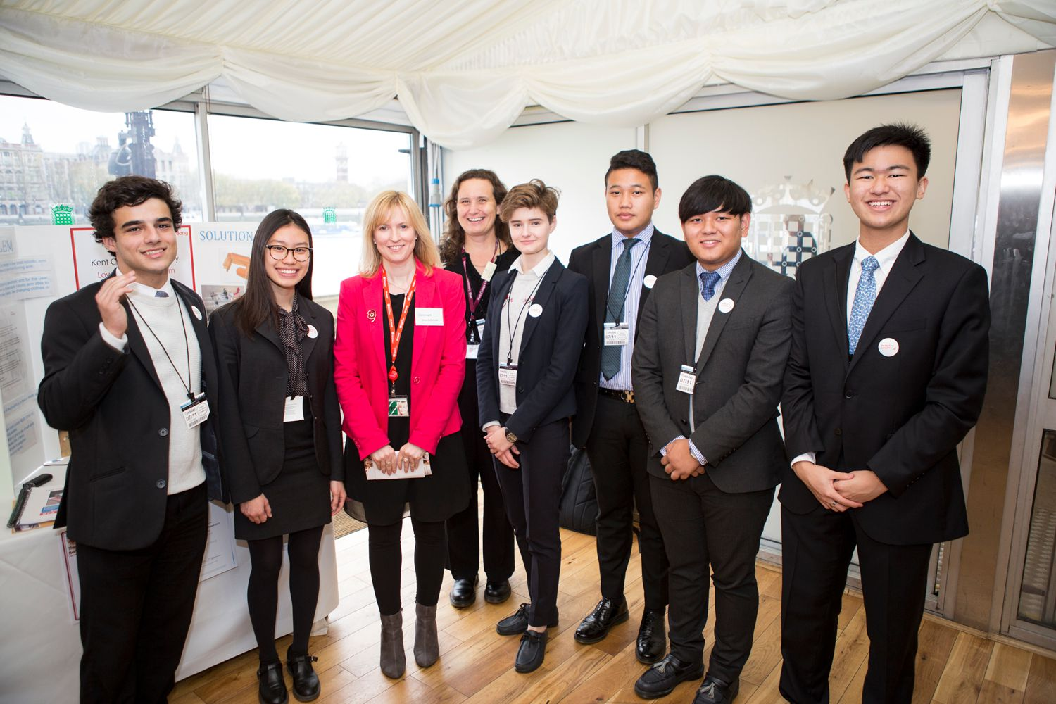 Young Engineers of the Year winners visit Parliament