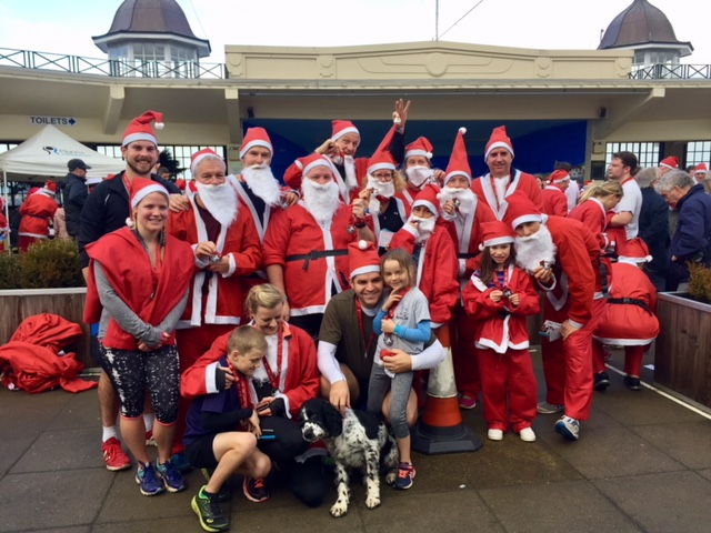 Santas on the Run 2018