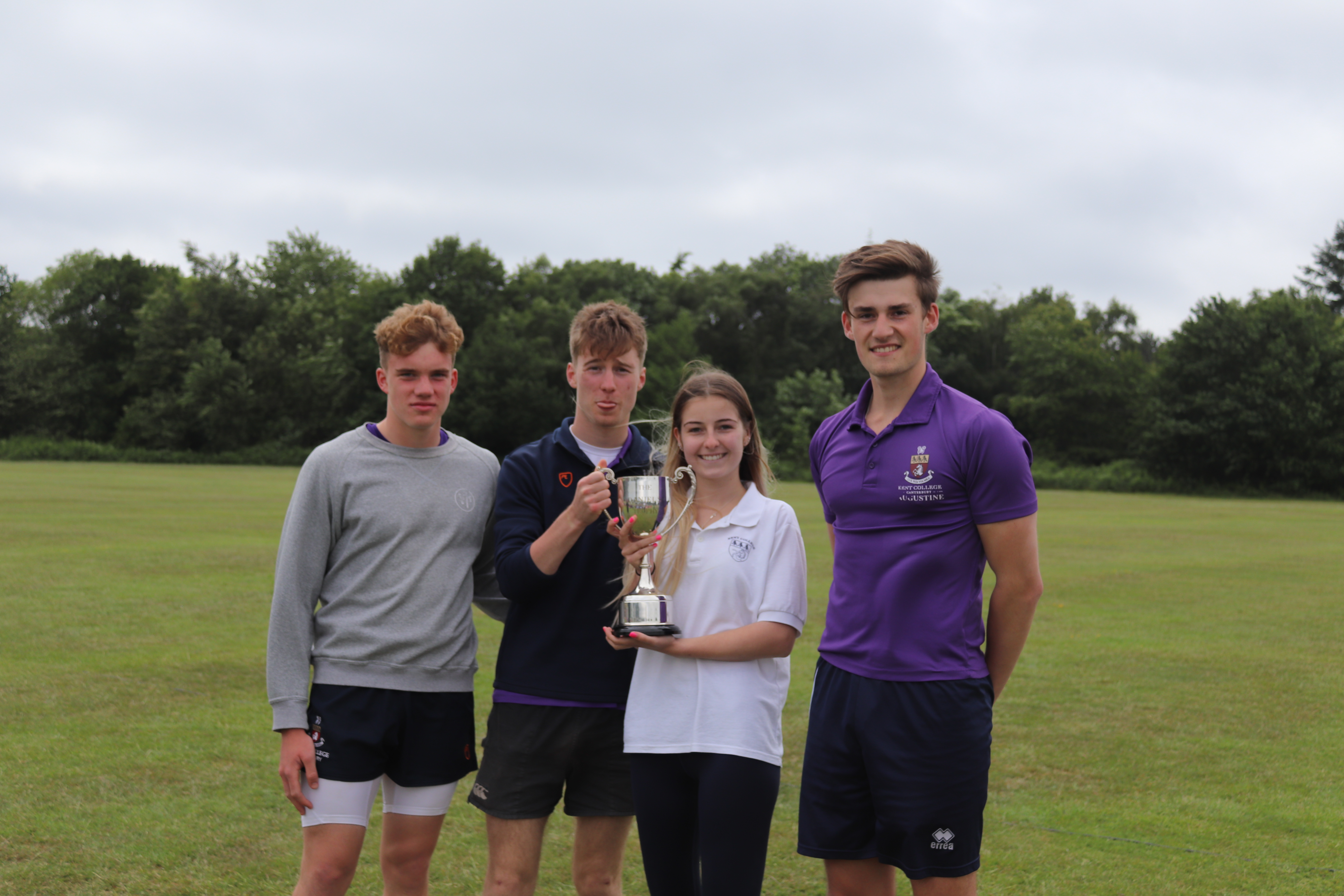 Sports Day 2019 - Augustine take home the trophy!
